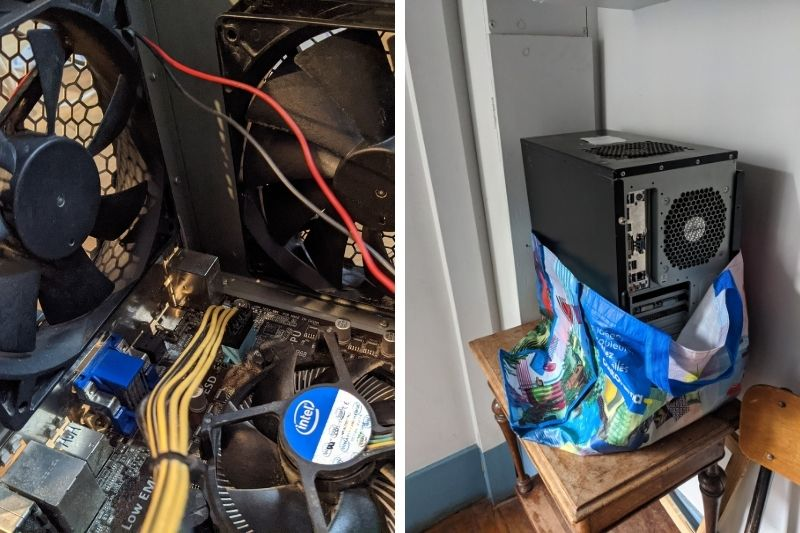 From the curb-side: a pre-loved gaming computer